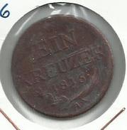 Austria_1816_1 Kreuzer - Austria
