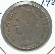 Congo Belga_1922_1 Franco - Congo (Belga) & Ruanda-Urundi