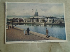 D149008 IRELAND  DUBLIN - River Liffey And Customs House 1962 Stamp - Dublin