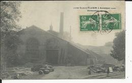 Auvergny Usine Cmlovis Flusin - France