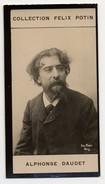 Collection Felix Potin - 1898 - REAL PHOTO - Alphonse Daudet, Homme De Lettres - Félix Potin