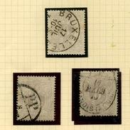 29   8c Ø De Belgique  Cote Minimum 58 E X 6 = 348 Euros - 1869-1883 Leopoldo II