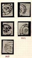 29   8c Ø De Belgique  Cote Minimum 58 E X 5 = 290 Euros - 1869-1883 Leopold II