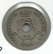 Bélgica_1904__ 10 Céntimos - 1865-1909: Leopoldo II