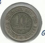 Bélgica_1862__ 10 Céntimos - 1831-1865: Léopoldo I