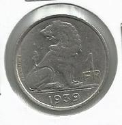 Bélgica_1939__ 1 Franco - 04. 1 Franco
