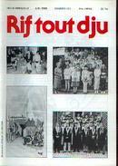 (NIVELLES) « Rif Tout Dju » N° 401 - 06/1998 - Cultuur