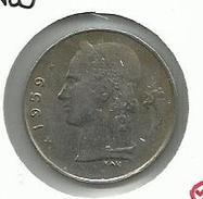Bélgica_1959__ 1 Franco - 04. 1 Franco