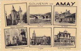Souvenir De Amay (multi Vues, Multiphoto) - Amay