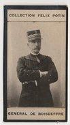 Collection Felix Potin - 1898 - REAL PHOTO - Géneral Raoul De Boisdeffre - Félix Potin