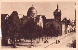 ALTE AK  SELESTAT - SCHLETTSTADT / Dep. Bas-Rhin  - La Synagoge Et La Fausse Porte -  1945 Gelaufen - Selestat