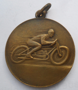 MEDAL MOTORCYCLE RACES 1929 EGER HUNGARY  PLIM - Racing