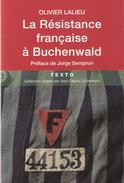 RESISTANCE FRANCAISE A BUCHENWALD DEPORTE CAMP CONCENTRATION REICH - Guerre 1939-45