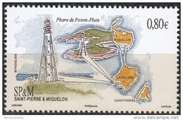 Saint-Pierre & Miquelon 2016 Phare De Pointe-Plate Neuf ** - St.Pierre Et Miquelon