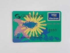 RUSSIA - DEBIT CARD - VISA - GUTA BANK - Geldkarten (Ablauf Min. 10 Jahre)