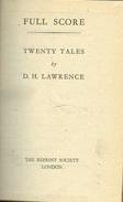Full Score: Twenty Tales By D. H. Lawrence - Libros, Revistas, Cómics