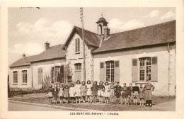CPA LES BERTINS 58/604 - France