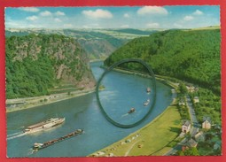Loreley - Tal, Loreley-Felsen Bei St. Goarshausen Am Rhein - Loreley