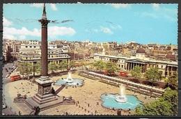 1967 Great Britain, Trafalgar Square, Nelson's Column, Mailed