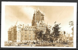 1952 Canada, Quebec City, Chateau Frontenac, Mailed To USA - Québec - Château Frontenac