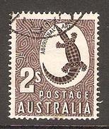 003378 Australia 1956 2/- FU - 1952-65 Elizabeth II : Pre-Decimals