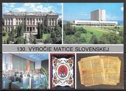 1993 Slovakia, Vyrocie Matice Slovenskej, Mailed To USA - Slovakia