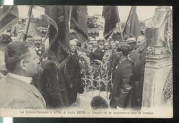 CPA Ars - 01 - La Libre Pensée à Ars 6 Juin 1906 - Dépôt De La Couronne Sur La Tombe - Non Circulée - Ars-sur-Formans