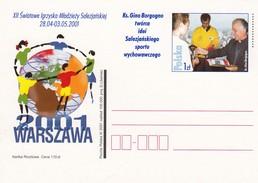POLOGNE - POLSKA - CP ENTIER POSTAL - 2001 WARSZAWA   / 4 - Stamped Stationery