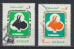 °°° LOT SUDAN SOUDAN - Y&T N°414/16 - 1991 °°° - Sudan (1954-...)