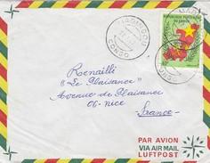 LETTRE COVER CONGO 1972   MADINGOU  POUR LA FRANCE - Ohne Zuordnung