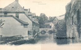 AK Göttingen, Leinekanal - Goettingen