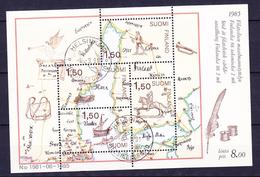 FINLANDE BLOC ET FEUILLET 1985 YT N° BF 1 Obl.
