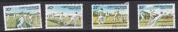Christmas Island ASC 165-168 1984 25th Anniversary Of Cricket Mint Never Hinged Set - Christmas Island