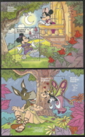 St Vincent,  Scott # 707-708,  Issued 1990  2 S/S,  MNH,  Cat $ 13.50,  Disney - St.Vincent & Grenadines