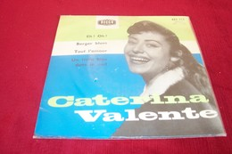 CATERINA VALENTE °  EH OH + 3 TITRES REF DECCA 455712 - Collections Complètes