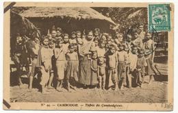 CPA - CAMBODGE - Type De Cambodgiens - Cambodia