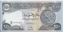 IRAQ - 250 Dinars 2013 UNC - Iraq