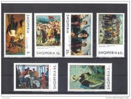 ALB302  ALBANIEN 1970  MICHL  1442/47 ** Postfruisch SIEHE ABBILDUNG - Albanien