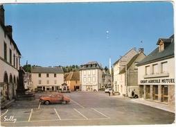 CP Tauves Place De La Mairie 63 Puy De Dôme Dauphine Renault - France