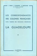 DUBUS 1958 GUADELOUPE Oblitérations Avec TP Des CG - Filatelia E Storia Postale