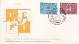 Belgium 1963 FDC Europa CEPT (T11-36) - Europa-CEPT