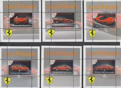 FERRARI  - 6 Sheets  LIMITED EDITION!!!! Mint  CINDERELLA - Cars