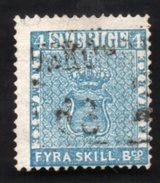 Sweden Yvert #2 Used - Suède