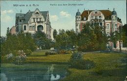 AK Mülheim Ruhr, Partie Aus Dem Dichterviertel, Um 1919, Rückseite Fehlt, Evtl. überklebt? (3910) - Muelheim A. D. Ruhr