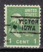 USA Precancel Vorausentwertung Preos Locals Iowa, Victor 729