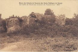 RENNES  Oeuvre Des Colonies De Vacances Des Ecoles Publiques Enfants Les Buttes De Chevré Aux Alentours  Du Préventorium - Rennes
