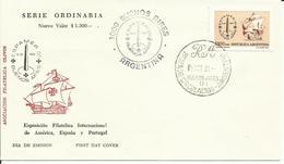 ARGENTINA   SOBRE PRIMER DIA   ESPAMER 81 - Altri