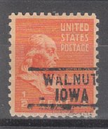 USA Precancel Vorausentwertung Preos Locals Iowa, Walnut 729