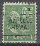 USA Precancel Vorausentwertung Preos Locals Iowa, Wapelo 703