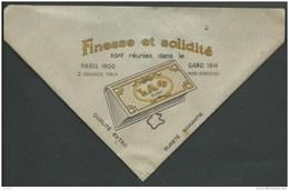 Pochette Tabac à Rouler Ancien LA + PARIS 1900 GAND 1914 N°2 - Boites à Tabac Vides